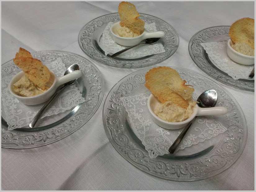 Baccalà mantecato con crostino